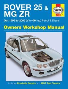 Bilde av Haynes, Rover 25 & MG ZR (99-06)