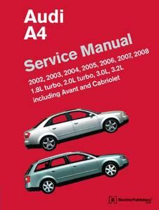 Bilde av Audi A4 Service Manual 2002-2008