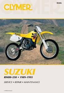 Bilde av Clymer Manuals Suzuki RM80-250
