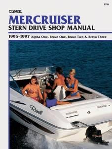 Bilde av Clymer Manuals MerCruiser Stern
