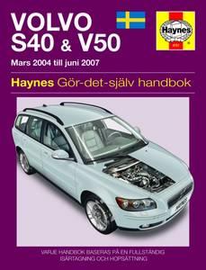 Bilde av Volvo S40 & V50 bensin & diesel