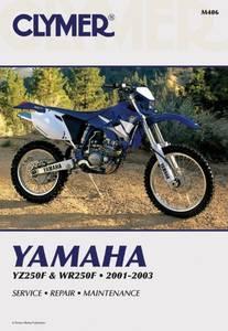 Bilde av Clymer Manuals Yamaha YZ250F,