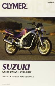Bilde av Clymer Manuals Suzuki GS500E