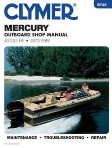 Bilde av Clymer Manuals Mercury 45 - 225