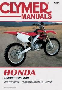 Bilde av Clymer Manuals Honda CR250R