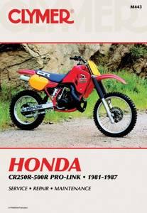 Bilde av Clymer Manuals Honda CR250R-500R