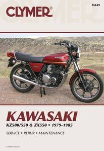 Bilde av Clymer Manuals Kawasaki
