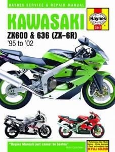 Bilde av Kawasaki ZX-6R Ninja Fours (95 -