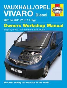 Bilde av Haynes, Vauxhall/Opel Vivaro
