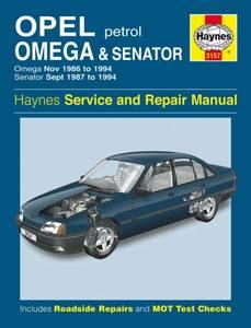 Bilde av Haynes, Opel Omega and Senator