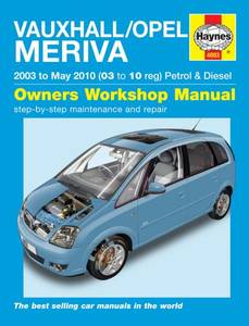 Bilde av Haynes, Vauxhall/Opel Meriva