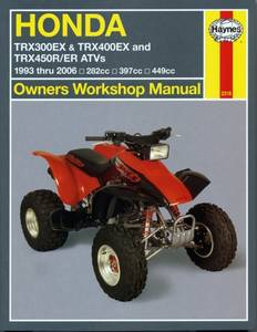 Bilde av Haynes, Honda TRX300EX, TRX400EX