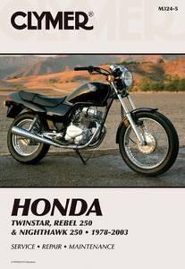 Bilde av Clymer Manuals Honda Twinstar,