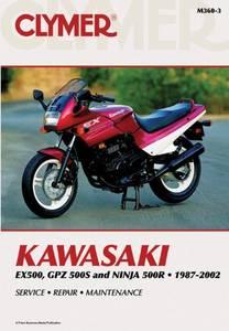 Bilde av Clymer Manuals Kawasaki EX500,