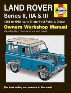 Bilde av Haynes, Land Rover Series II,